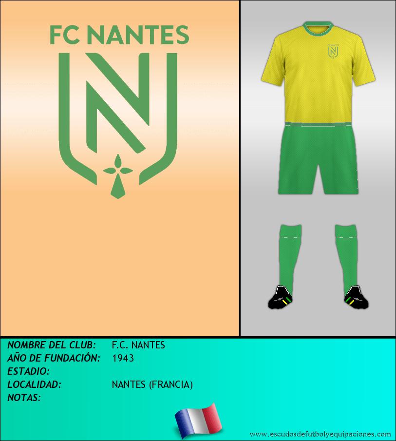 Escudo de F.C. NANTES