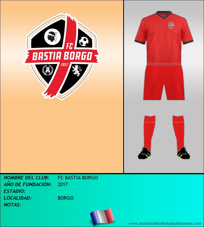 Escudo de FC BASTIA BORGO