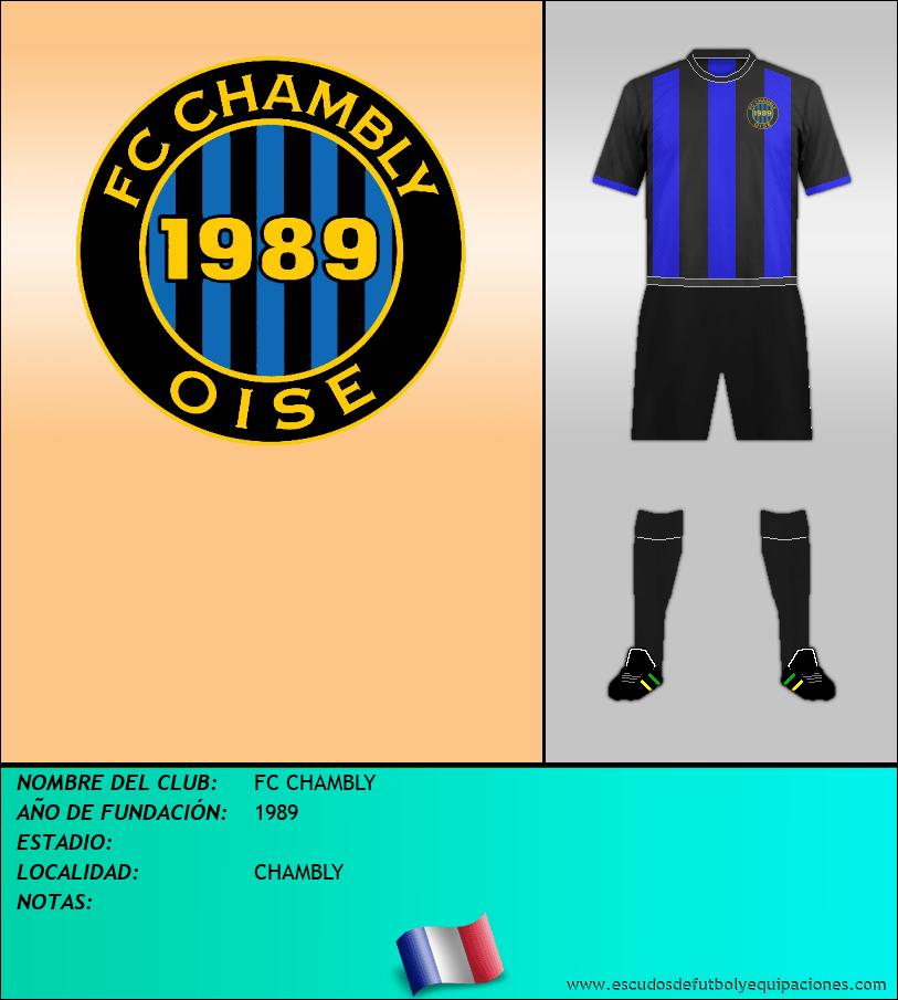 Escudo de FC CHAMBLY