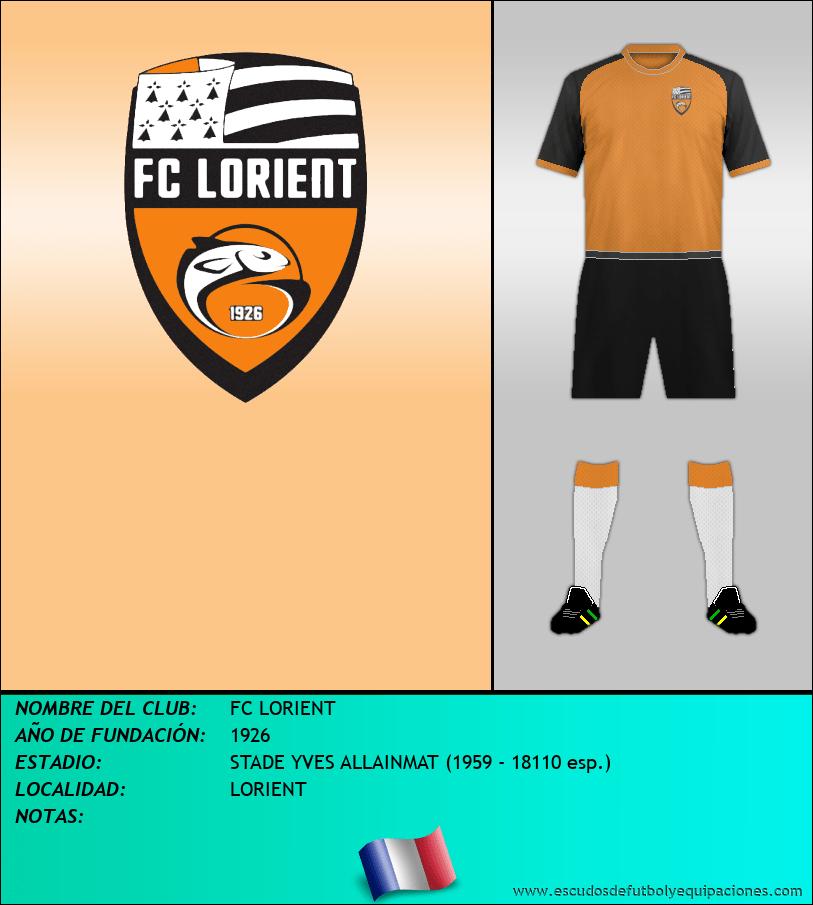 Escudo de FC LORIENT