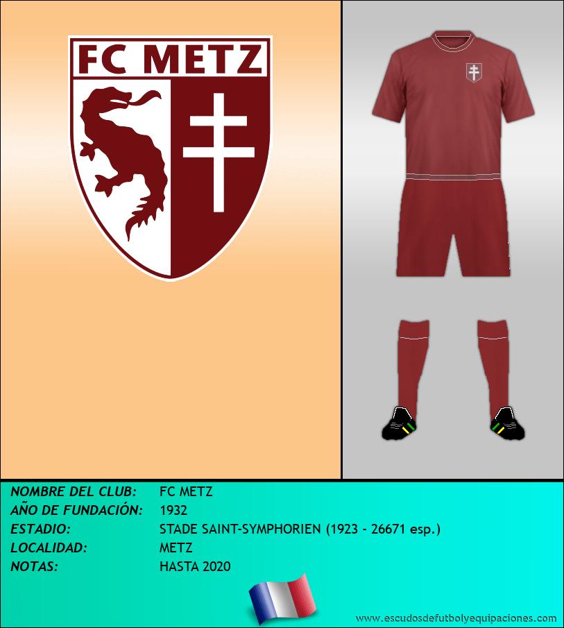 Escudo de FC METZ