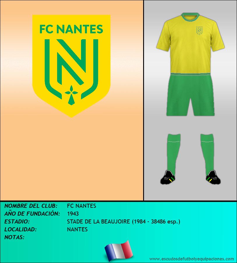 Escudo de FC NANTES