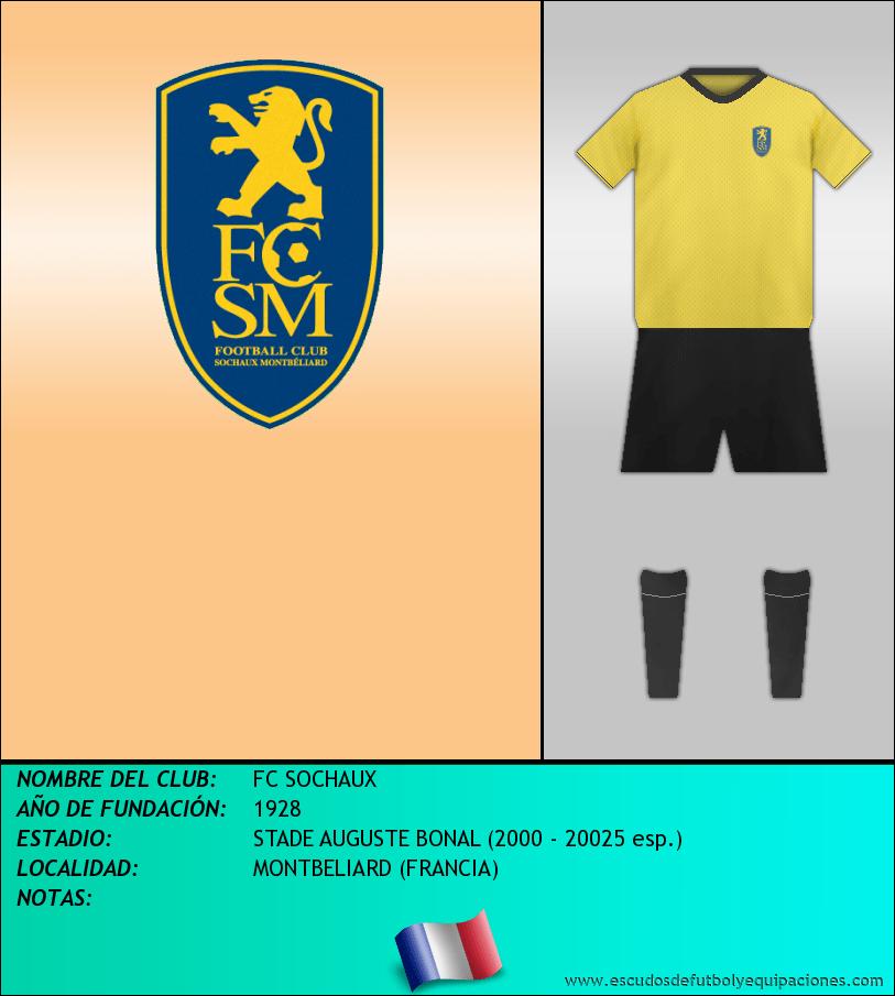 Escudo de FC SOCHAUX