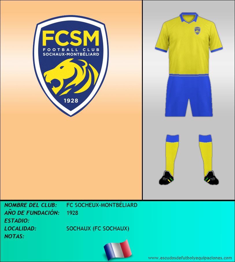 Escudo de FC SOCHEUX-MONTBÉLIARD