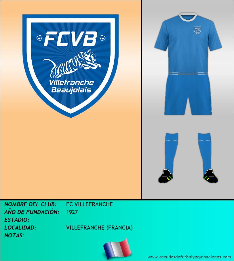 Escudo de FC VILLEFRANCHE