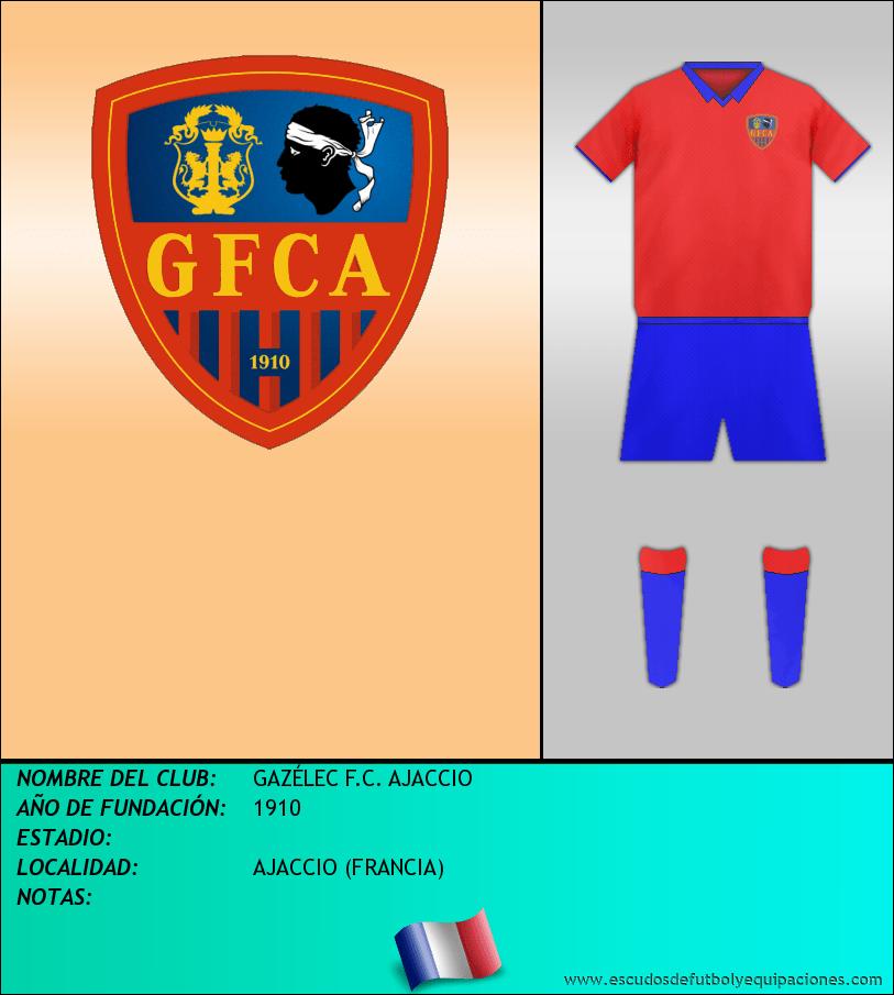 Escudo de GAZÉLEC F.C. AJACCIO