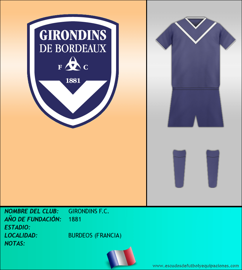 Escudo de GIRONDINS F.C.