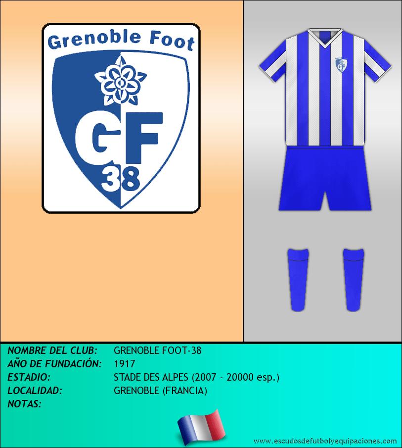 Escudo de GRENOBLE FOOT-38