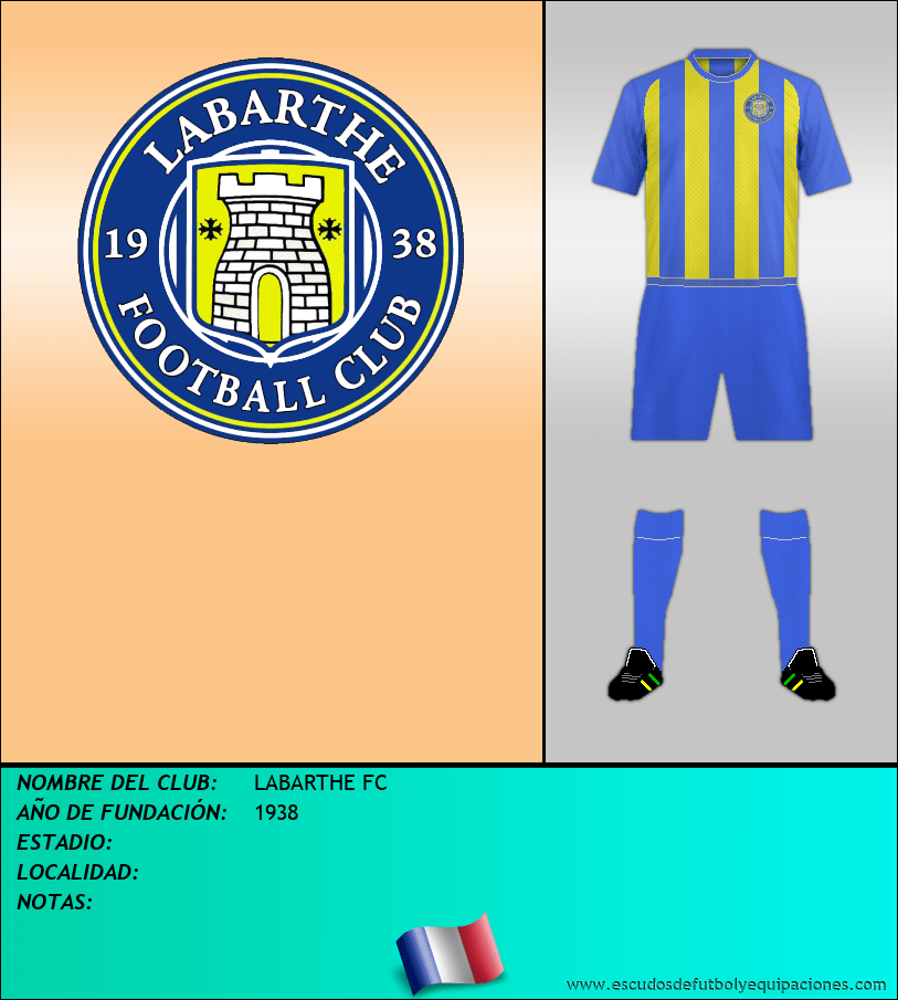 Escudo de LABARTHE FC