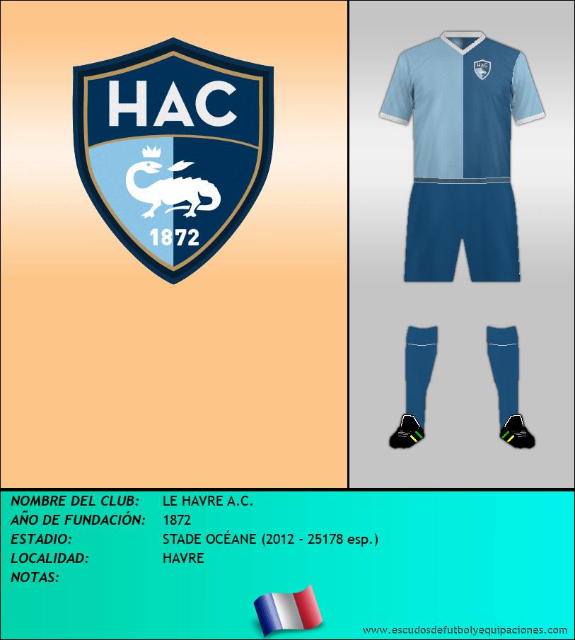 Escudo de LE HAVRE A.C.