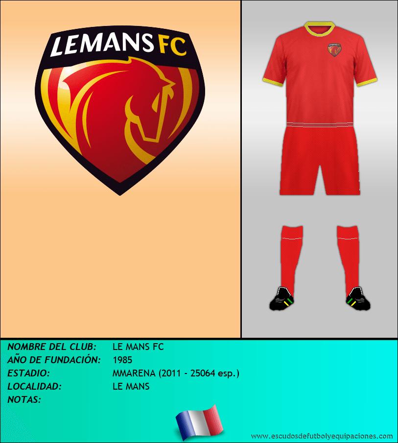 Escudo de LE MANS FC
