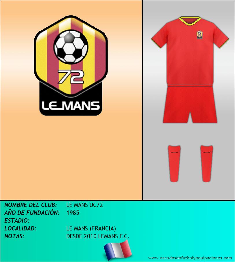 Escudo de LE MANS UC72