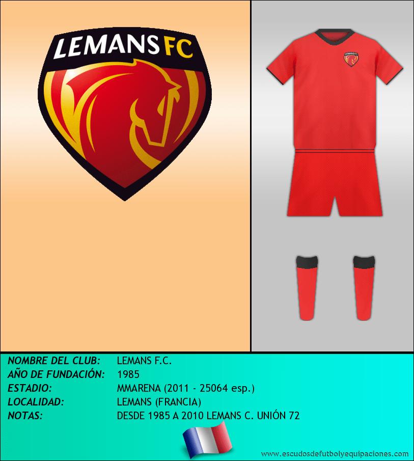 Escudo de LEMANS F.C.