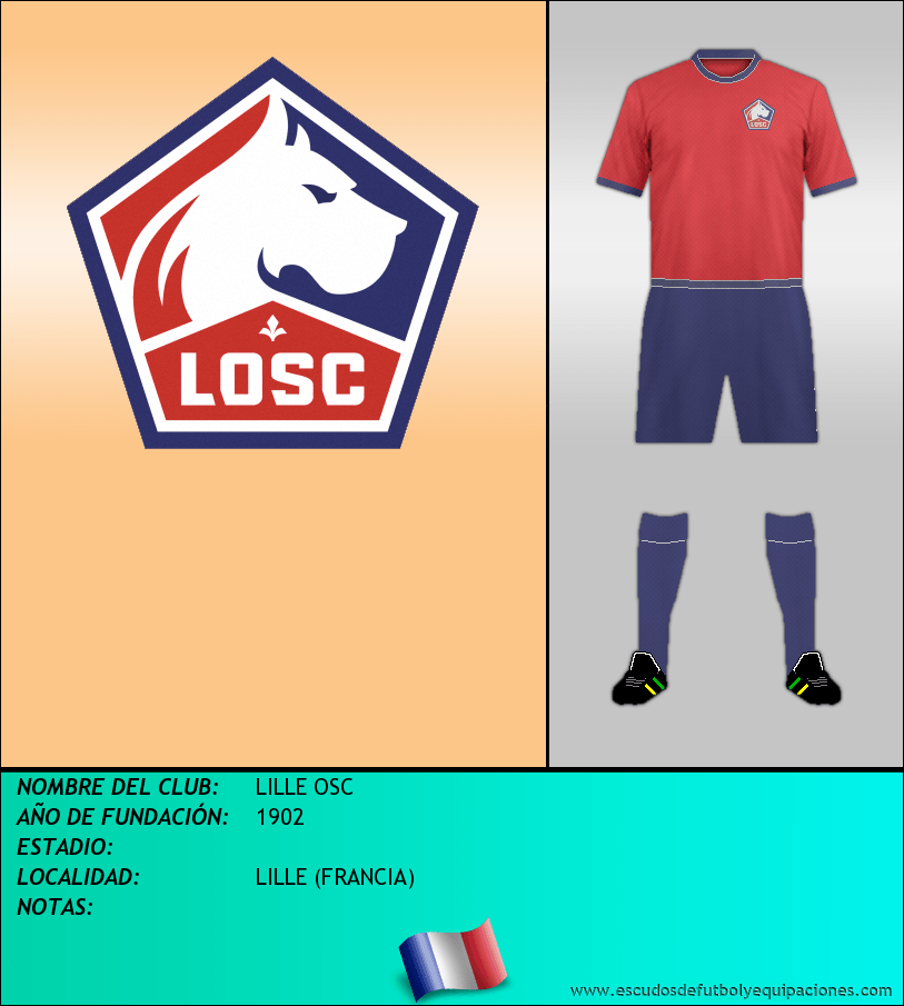 Escudo de LILLE OSC