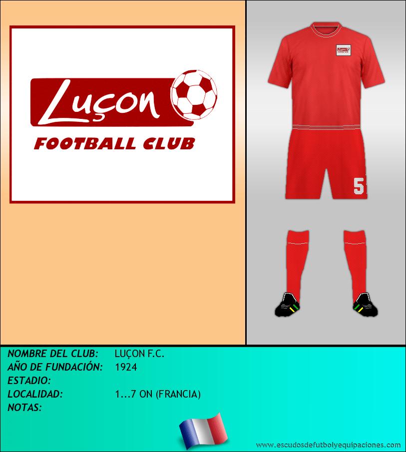Escudo de LUÇON F.C.