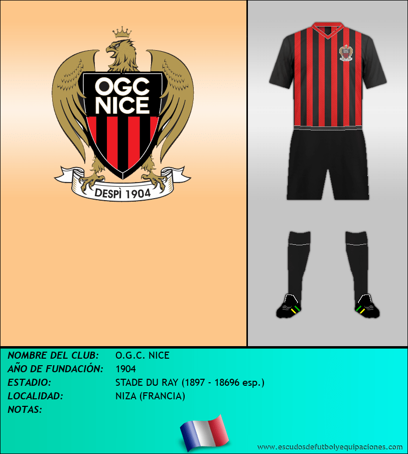 Escudo de O.G.C. NICE