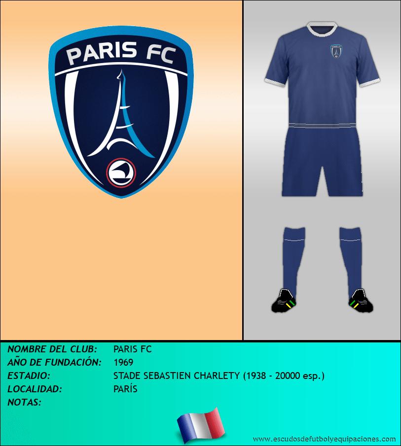 Escudo de PARIS FC