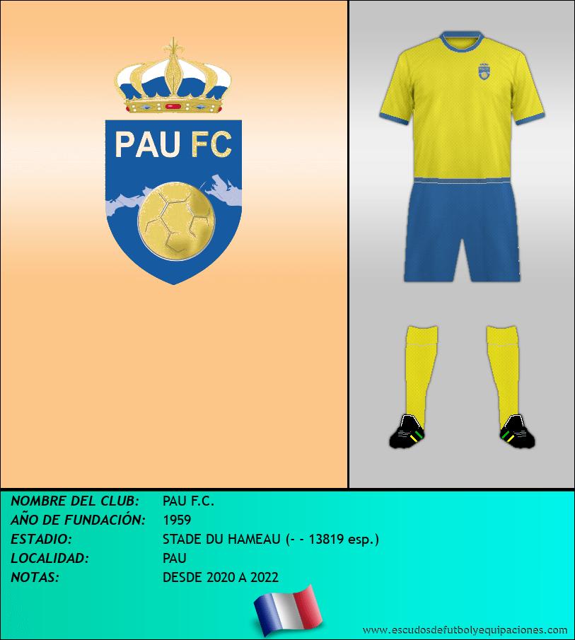 Escudo de PAU F.C.