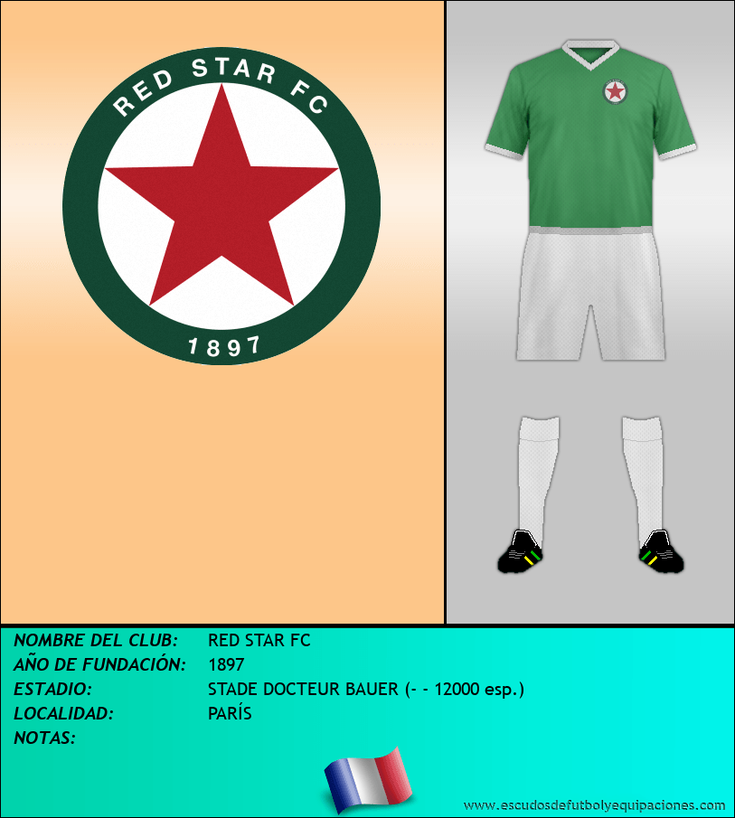 Escudo de RED STAR FC