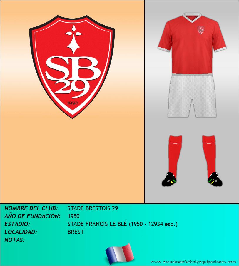 Escudo de STADE BRESTOIS 29