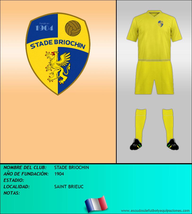 Escudo de STADE BRIOCHIN