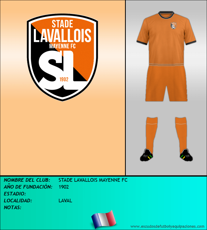 Escudo de STADE LAVALLOIS MAYENNE FC