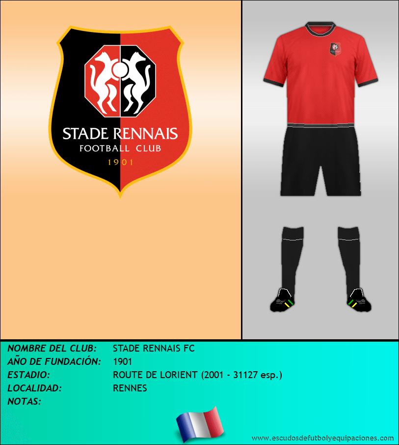 Escudo de STADE RENNAIS FC