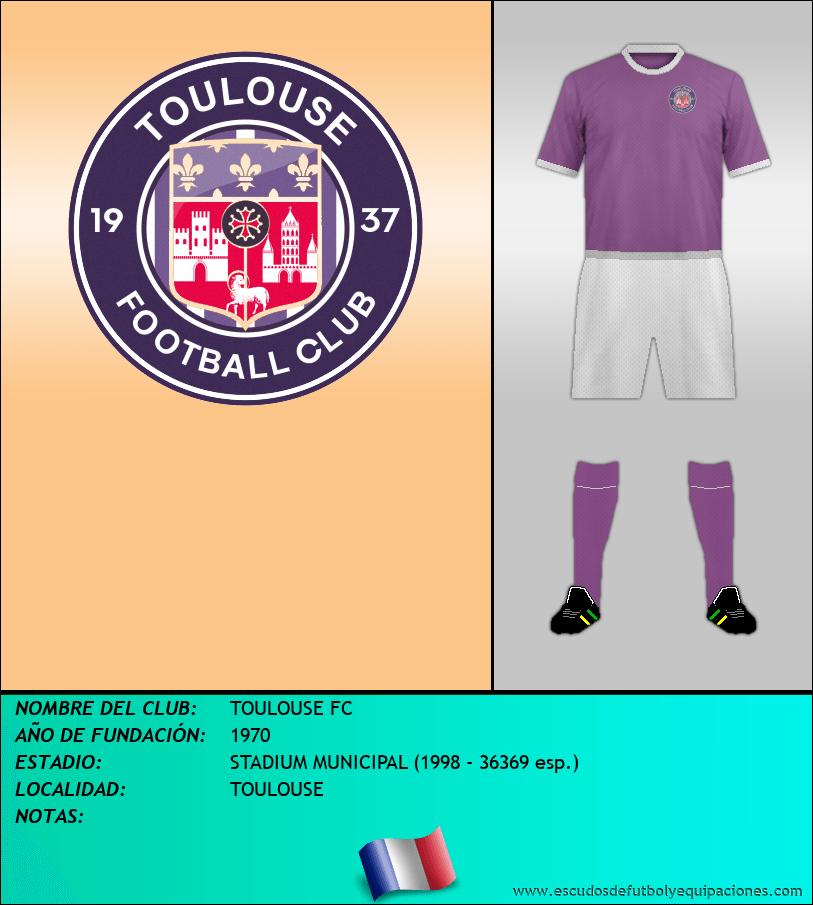 Escudo de TOULOUSE FC