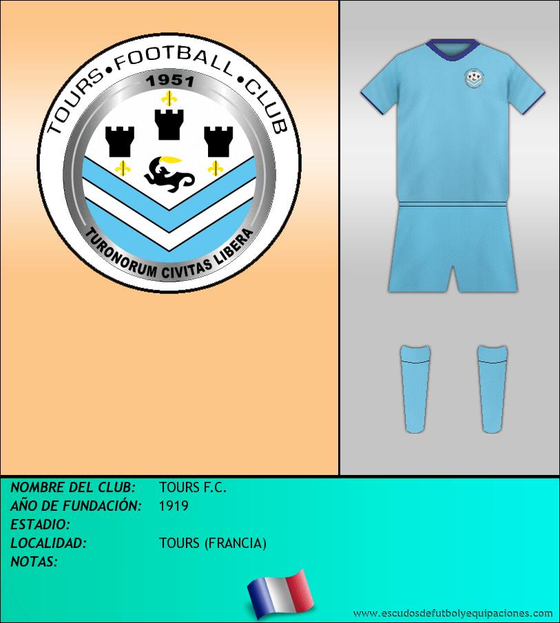Escudo de TOURS F.C.