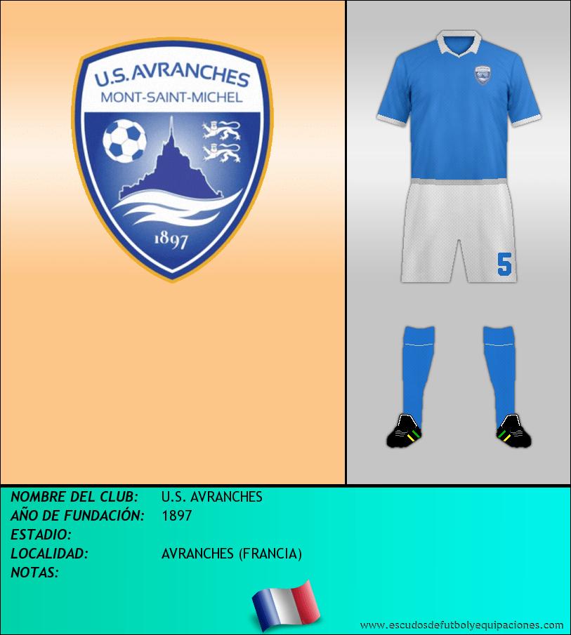 Escudo de U.S. AVRANCHES