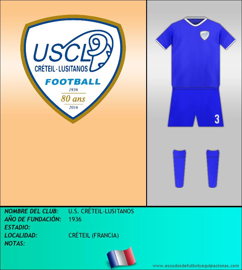 Escudo de U.S. CRÉTEIL-LUSITANOS
