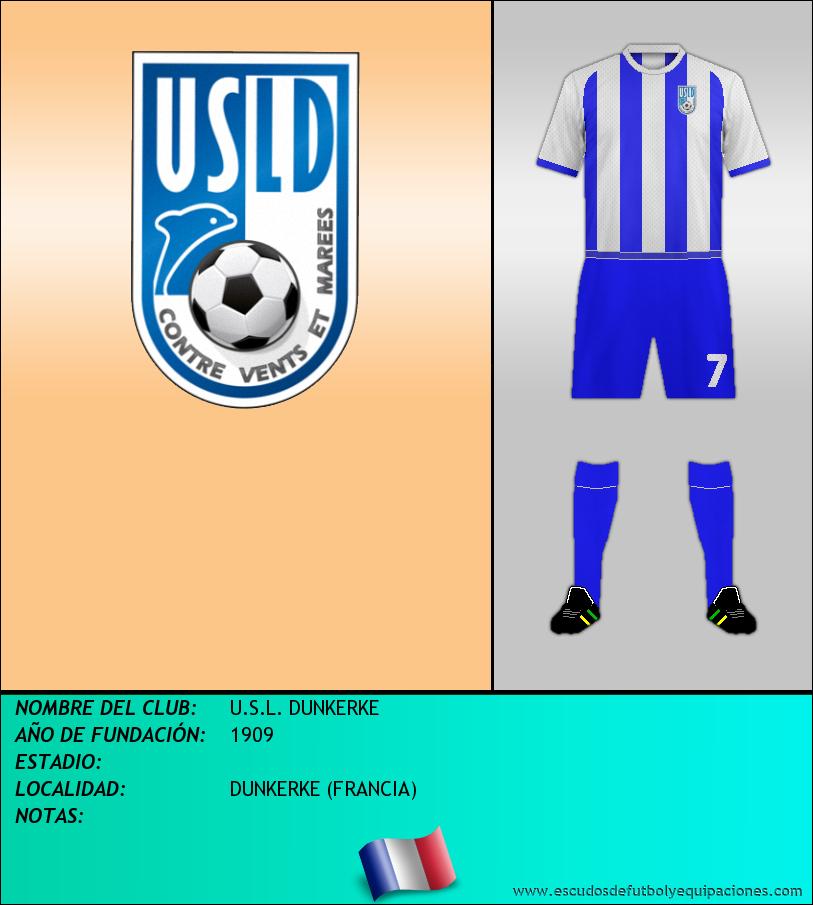 Escudo de U.S.L. DUNKERKE