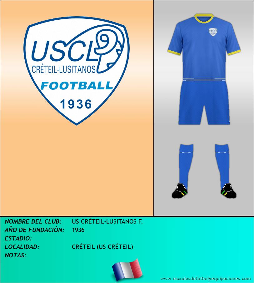 Escudo de US CRÉTEIL-LUSITANOS F.