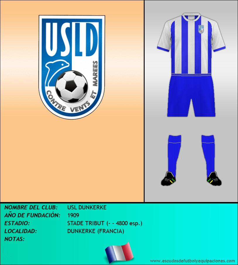 Escudo de USL DUNKERKE