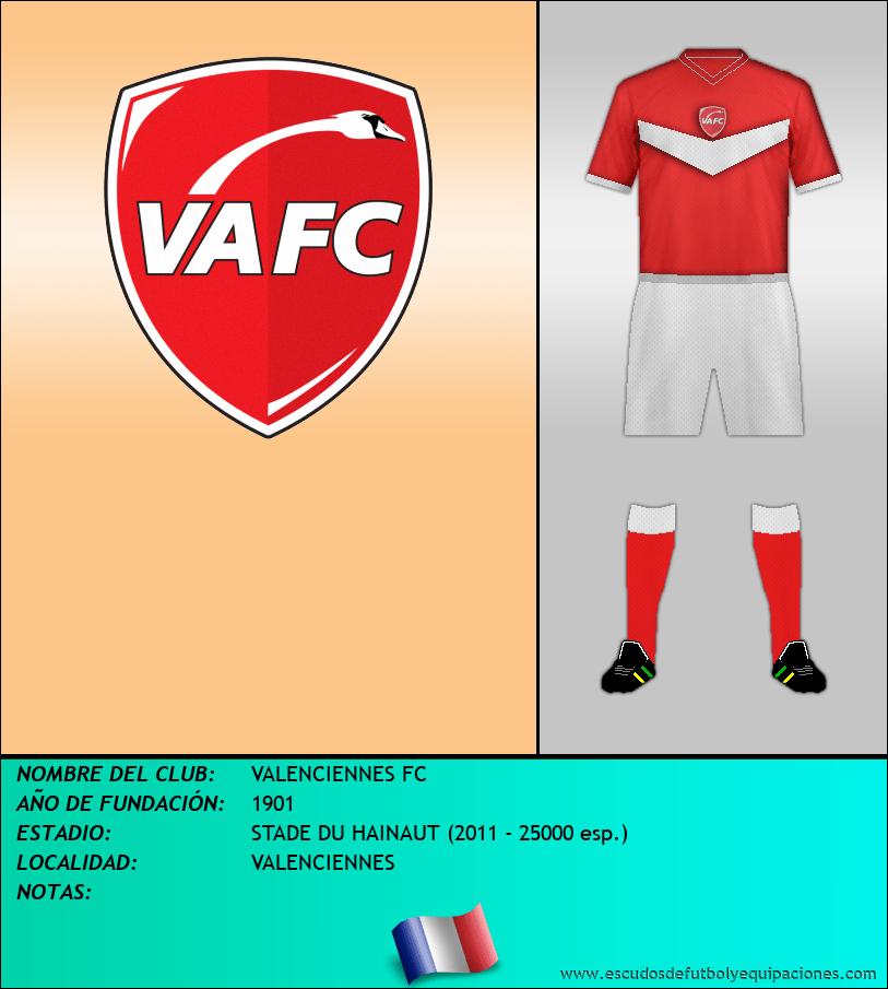 Escudo de VALENCIENNES FC