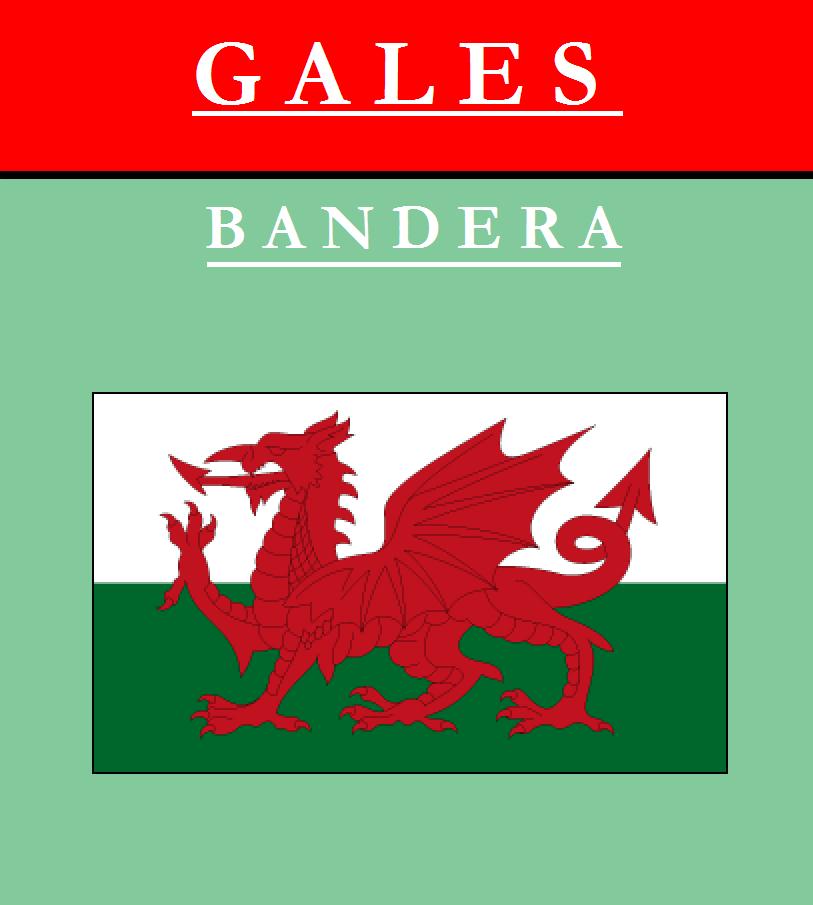 Escudo de BANDERA DE GALES