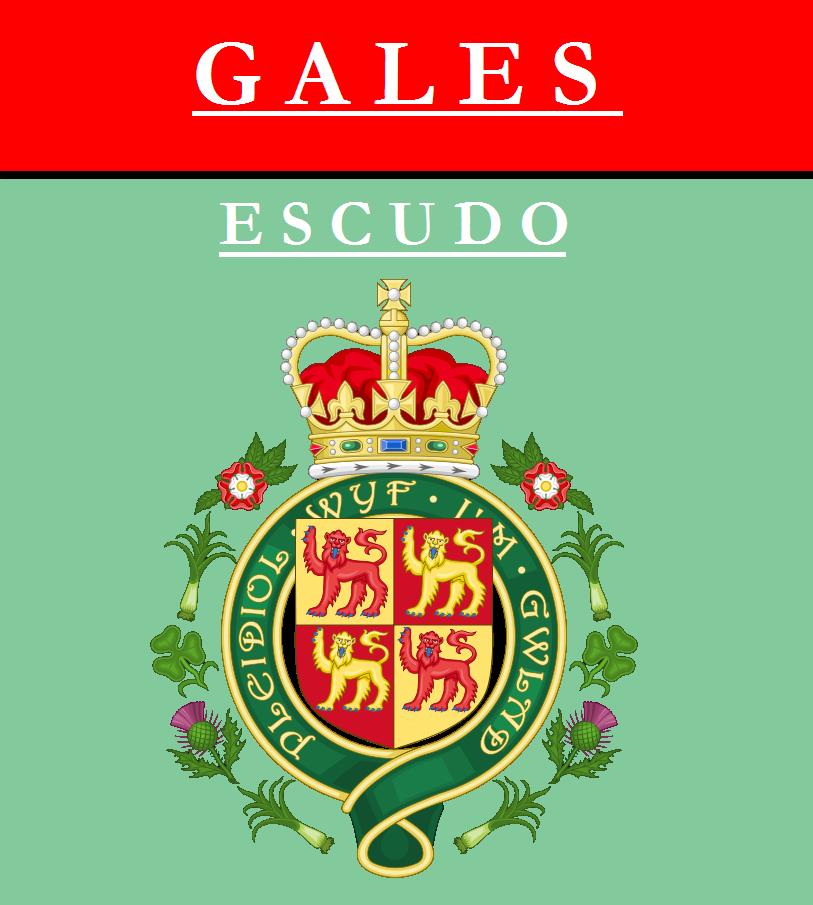 Escudo de ESCUDO DE GALES