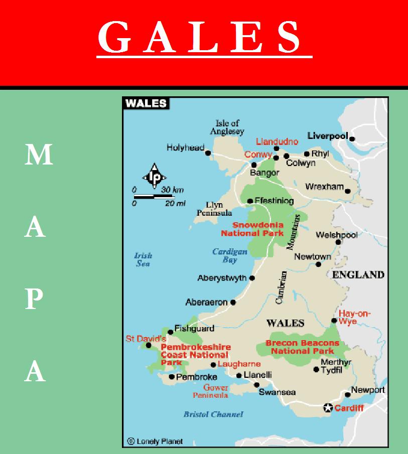 Escudo de MAPA DE GALES