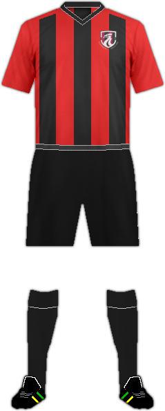 Equipación GUILSFIELD FC