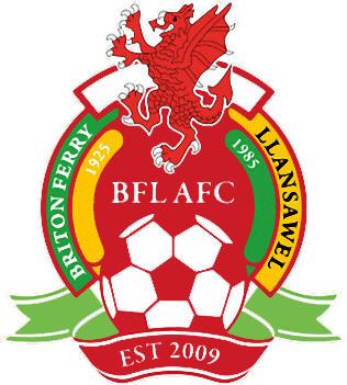 Escudo de BRITON FERRY LLANSAWEL AFC (GALES)