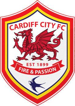 Escudo de CARDIFF CITY F.C. (GALES)