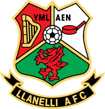 Escudo de LLANELLI AFC (GALES)