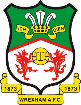 Escudo de WREXHAM F.C. (GALES)