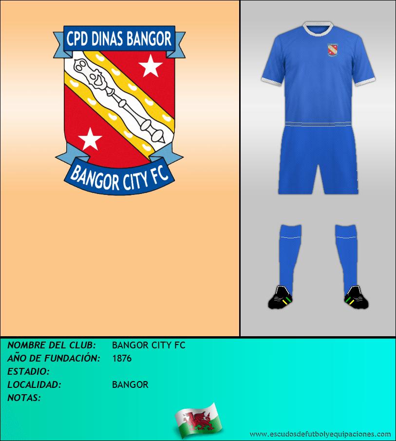 Escudo de BANGOR CITY FC