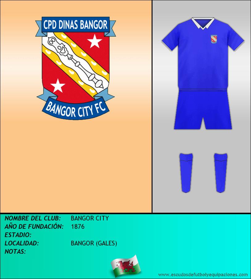 Escudo de BANGOR CITY