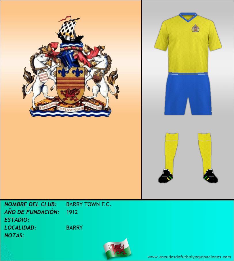 Escudo de BARRY TOWN F.C.