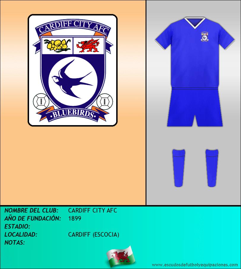 Escudo de CARDIFF CITY AFC