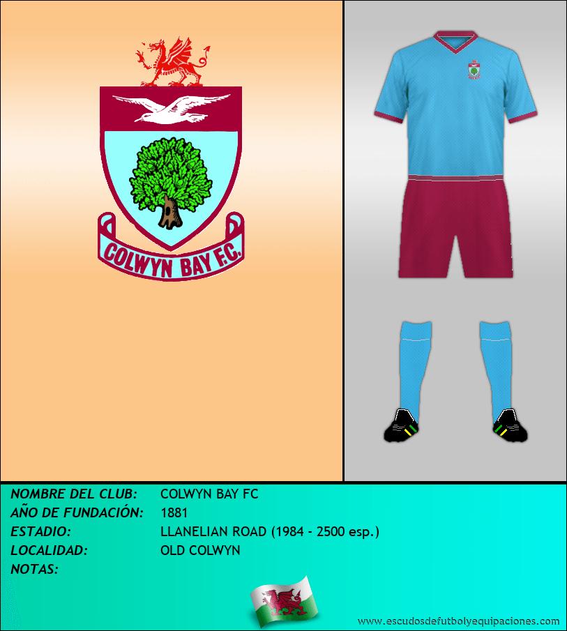 Escudo de COLWYN BAY FC