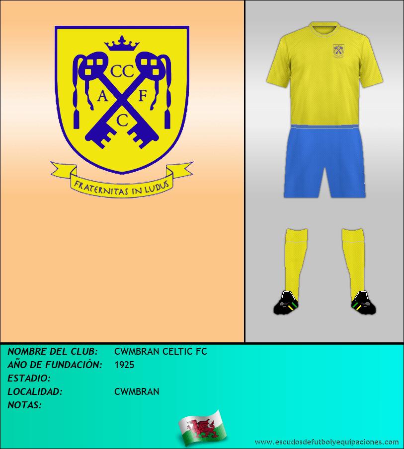 Escudo de CWMBRAN CELTIC FC