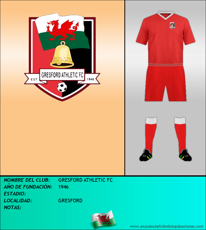 Escudo de GRESFORD ATHLETIC FC